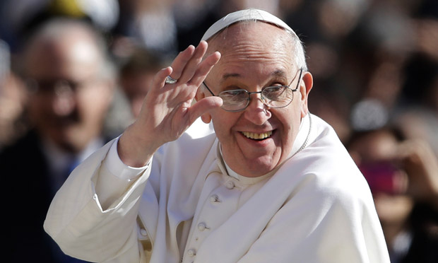 Coming to America....Pope Francis