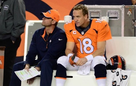Peyton Manning Benched