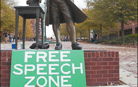 Do college safe spaces infringe on free speech?