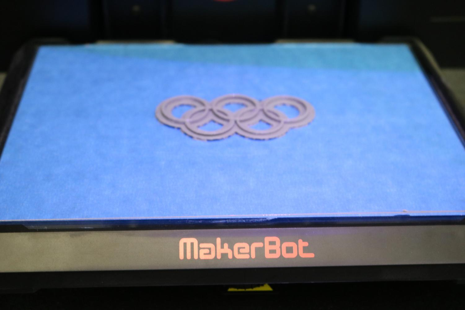 Testing+out+the+3D+printer+in+the+technology+lab.