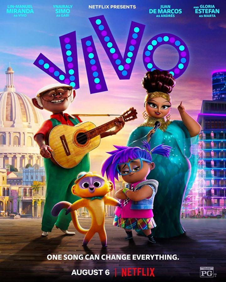 Promotional poster for Vivo. Image credit: Netflix